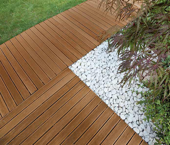 Pavimenti e rivestimenti idea pavimenti - Doghe in legno per esterni ...